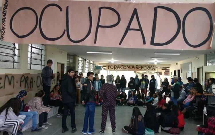 Ocupação das escolas